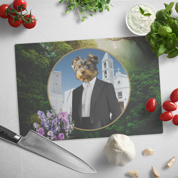 Kobe Yorkshire Terrier Cutting Board - The Green Gypsie