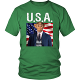 Bubba Monkey USA Unisex T Shirt - The Green Gypsie