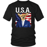 Chico Chihuahua USA T Shirt - The Green Gypsie