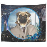 Pugsley City Pug Tapestry - The Green Gypsie