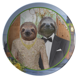 Rory & Logan Sloth Plate - The Green Gypsie