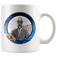 Cooper Doberman Mug - The Green Gypsie