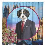 Charles Cavalier King Charles Shower Curtain - The Green Gypsie
