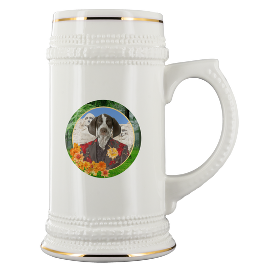 Piper Pointer Beer Stein