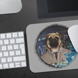 Pugsley City Pug Mouse Pad - The Green Gypsie