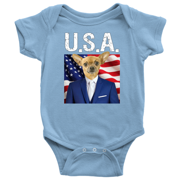 Chico Chihuahua USA Onsie - The Green Gypsie