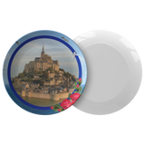 Mont Saint-Michel Plate - The Green Gypsie
