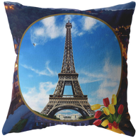 France Eiffel Tower Pillow - The Green Gypsie