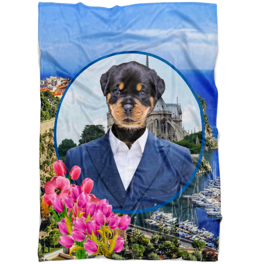 Randy Rottweiler Blanket - The Green Gypsie