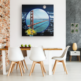 San Francisco Canvas - The Green Gypsie