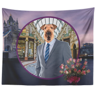 Bingley Airedale Terrier Tapestry - The Green Gypsie