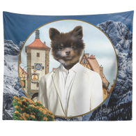 Cory Pomeranian Tapestry - The Green Gypsie