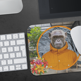 Chip Monkey Mouse Pad - The Green Gypsie