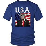 Cheerio Cat USA Unisex T Shirt - The Green Gypsie