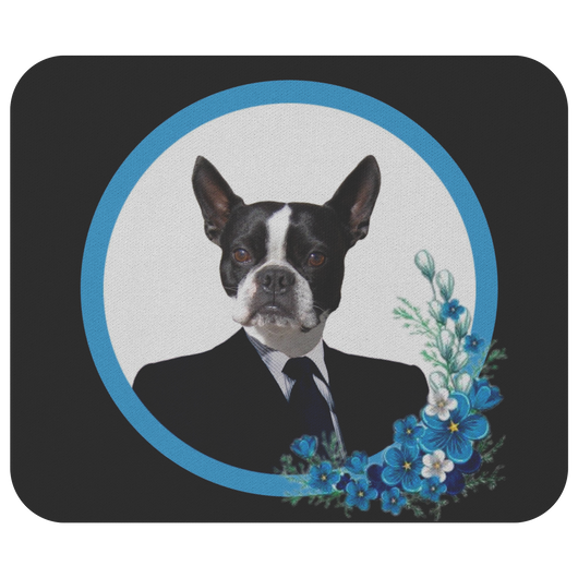 Buddy Boston Terrier Mouse Pad - The Green Gypsie