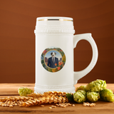 Aussie Australian Shepherd Beer Stein - The Green Gypsie