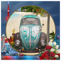 Slug Bug Green VW - The Green Gypsie