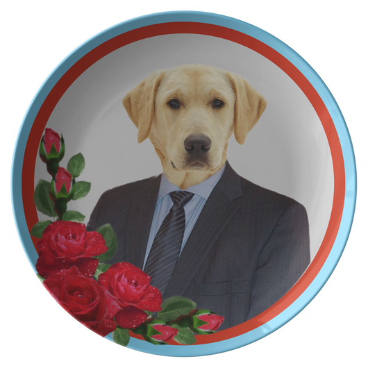 Louie Labrador Plate - The Green Gypsie