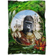 Albert Gorilla Blanket - The Green Gypsie