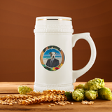Peter Pit Bull Terrier Beer Stein - The Green Gypsie