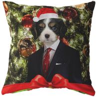 Charles Cavalier King Charles Holiday Pillow - The Green Gypsie