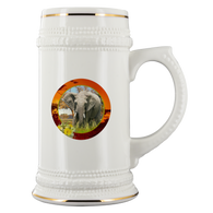 Emma Elephant Beer Stein - The Green Gypsie