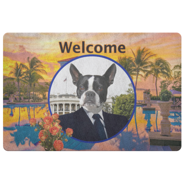 Buddy Boston Terrier Doormat - The Green Gypsie