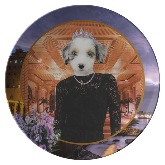 Holly Australian Shepherd Plate - The Green Gypsie