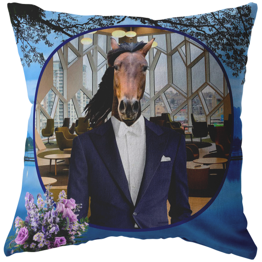 Gus Horse Pillow - The Green Gypsie