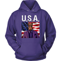 Prince Doberman Pincher USA Hoodie - The Green Gypsie