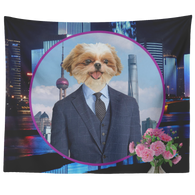 Jax Shih Tzu Tapestry - The Green Gypsie