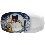 Cory Pomeranian Platter - The Green Gypsie