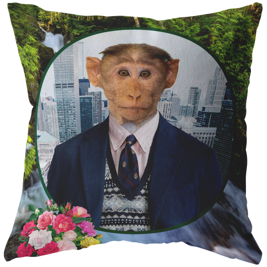 Bubba Monkey Pillow - The Green Gypsie