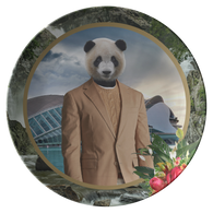 Patch Panda Plate - The Green Gypsie