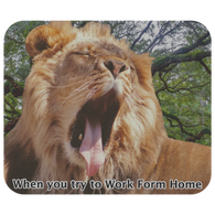 Liam Lion Work from Home Mousepad - The Green Gypsie