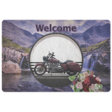Harley Motorcycle Doormat - The Green Gypsie
