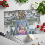 Trixie Tigress Cutting Board - The Green Gypsie