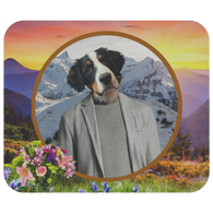 Bernie Bernese Mountain Dog Mouse Pad - The Green Gypsie
