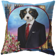 Charles Cavalier King Charles Pillow - The Green Gypsie