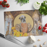 Grace Bulldog Cutting Board