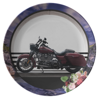 Harley Motorcycle Plate - The Green Gypsie