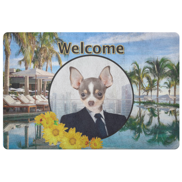 Coco Chihuahua Doormat - The Green Gypsie