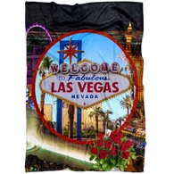 Las Vegas Fleece Blanket