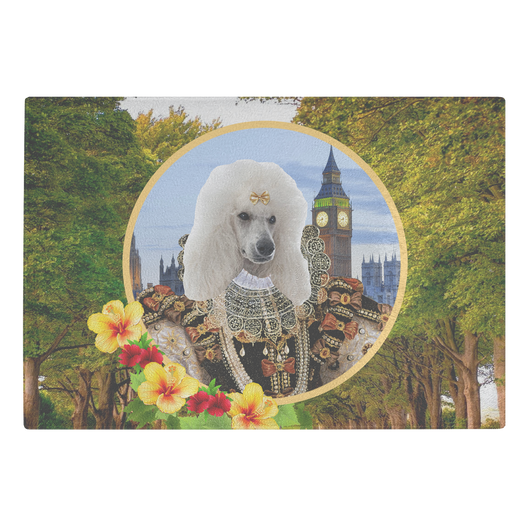 Polly Poodle Cutting Board - The Green Gypsie