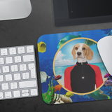 Bella At The Sea Mouse Pad