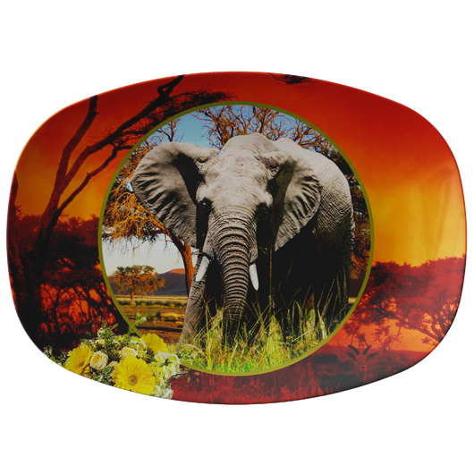 Emma Elephant Platter - The Green Gypsie