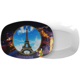 France Eiffel Tower Platter - The Green Gypsie