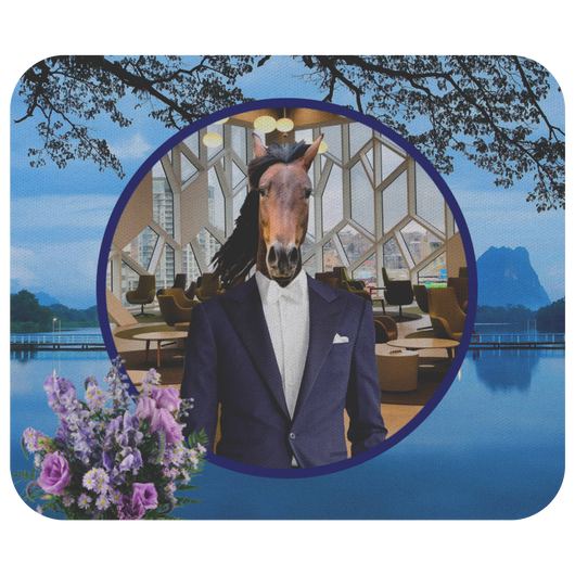 Gus Horse Mousepad - The Green Gypsie