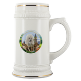 Polly Poodle Beer Stein - The Green Gypsie