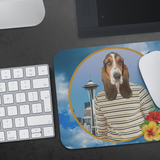 Henry Basset Hound Mouse Pad - The Green Gypsie